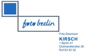 Foto Kirsch Logo 1957